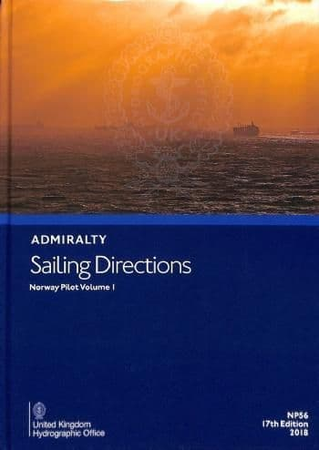 NP56 - Admiralty Sailing Directions: Norway Pilot Volume 1 ( 17th Edition )